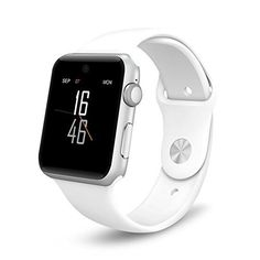 ETTG SW25 Bluetooth Smart Watch Support SIM Card Smartphone Fitness Tracker for IOS Android - White -- Be sure to check out this awesome product.