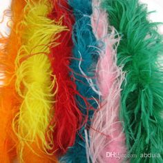Wholesale Ostrich Feather Boa - Buy Curly Ostrich Feather Boa 1ply White Feather Boa Ostrich Feathers Scarf Pary Costume Dressup Ostrich Feather Boas Many Colors, $14.73 | DHgate