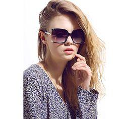 f38ff9eeec2f New Fashion Women Oversized Square sunglasses UV Protection eye glasses  Goggles UV400 *** Want