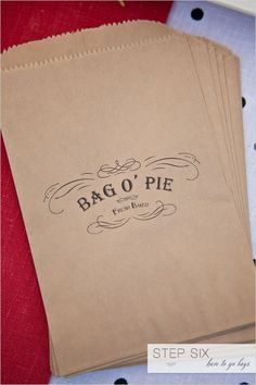 PIE PACKAGING