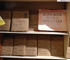 malaprop's blind date shelf