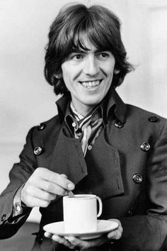 25 Feb 1943, Born on this day, George Harrison guitarist and vocalist with The Beatles (25 February 1943 – 29 November 2001). With our love, we could save the world.
