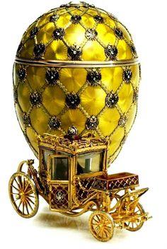 Декоративно-прикладное искусство, от decoro - украшаю: Carl Fabergу (1846 – 1920) - Coronation Egg