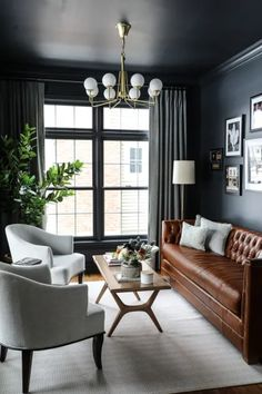 Small Space Living Room, Formal Living Rooms, Home Living Room, Small Spaces, Interior Design For Small Living Room, Small Livingroom Ideas, Small Living Room Designs, Interior Design Tips, Small Lounge