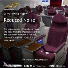 Sneak peek of Thai Airways' business seat on B787 - Business Traveller Asia