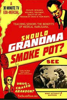 Video: Should Grandma Smoke Pot? The Silver Tour by Robert Platshorn (aka. The Black Tuna) | Weedist