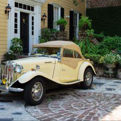 Charleston, South Carolina and 1953 MG TD