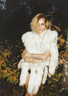 No Chateau (Industrie Magazine).  Alice Dellal by Juergen Teller