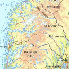 Map - Official Travel Guide to Norway - visitnorway.com