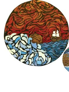 stained glass CD