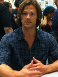 Jared Padalecki is sweet & so down to earth, not affected at all. Such a sweetheart.