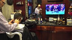 A Snapshot of Farzad's Barber Shop #barbers #barbershop #barberlife #yaletownbarbers #farzadsbarbershop http://youtu.be/t25JAy4mr4A