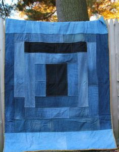Jim Dandy - Denim Quilt Pattern | YouCanMakeThis.com
