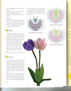 Fleurs en perles de rocaille, 48_redimensionner (549x700, 63Kb)