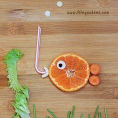 eğlenceli yiyecekler  mandalinadan balık  art food  #meyve #mandalina Mandala, Orange, Fruit, Food, Essen, Meals, Yemek, Mandalas, Eten