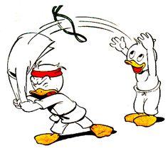 Judo ducks.