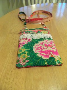 Small hipster silk purse