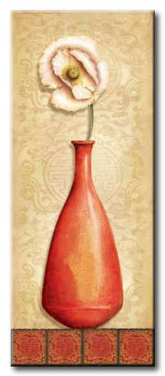 CBN_016_Asian Red III / Cuadro Flores, Flor de Asia
