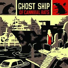 Ghost Ship of Cannibal Rats von Billy Talentöäkkzg Entertainment System, Band Posters, Movie Posters, Billy Talent, Ghost Ship, Red Flag, Album, Rats, Book Covers