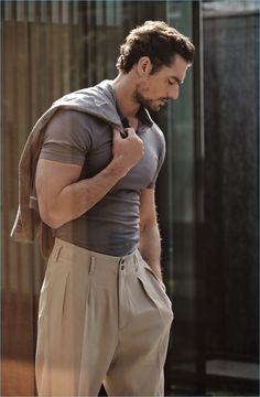15 Easy Mens Fashion Casual Tricks For A Sharper Look - Man Fashion David Gandy Style, David James Gandy, David Gandy Suit, Stylish Men, Men Casual, Casual Styles, Look Man, Mode Masculine, Gentleman Style