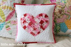 tutorial heart pillow