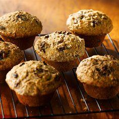 Muffins épicés aux raisins secs