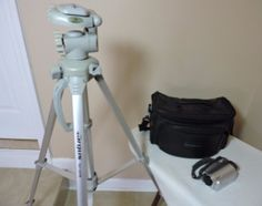 Panasonic Video Camcorder w/Tripod $60 Visit https://www.deansliquidation.com/ebay-ecommerce/product/192353483870