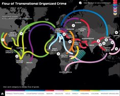 Flow of Global Organized Crime
