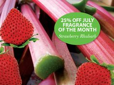 Strawberry Rhubarb! The perfect blend of sweet strawberry and sharp rhubarb, spiked with a hint of blackcurrant. Just like the tempting aroma of the classic fruit pie. #PartyLite #candles
