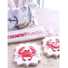 Crab Cookies // Shop the Whisk