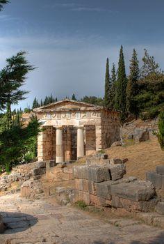 https://flic.kr/p/4X1Ga1   Treasury of the Athenians (View 1)   The Sanctuary of Apollo  Delphi, Greece
