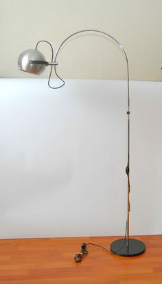 Modernist 60s floor lamp made by Anvia