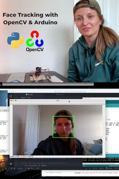 Want to get started with OpenCV and object recognition? Then face tracking is a pretty cool place to start. Give this project a try. Then interface the outcomes with Arduino to drive servos. Technology World, Latest Technology, Gaming Computer, Computer Science, Computer Vision, Gaming Setup, Coding In Python, Learn Robotics, Robotics Projects