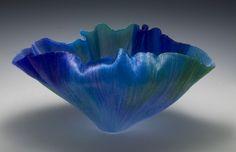 Toots Zynsky's heat-formed, filet de verre (glass thread) vessels | Decanted