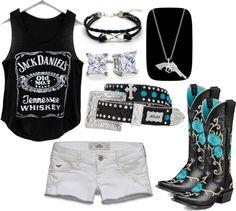 Jack Daniels Cowgirl