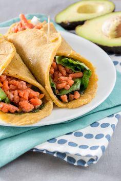 Paleo Wraps-2 Paleo Wraps, Sugar Free Diet, Paleo Bread, Paleo Dinner, Eat Breakfast, Food Videos, Yummy Food, Healthy Recipes, Snacks