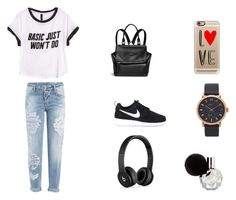 """""""❣☺️❣"""" by laura-estrada-costa on Polyvore featuring Dsquared2, H&M, Givenchy, NIKE, Beats by Dr. Dre, Casetify and Marc Jacobs"""