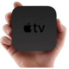 Apple TV uses both iCloud and wireless streaming technology to play content from an iPad, iPhone, or iPod touch to a TV. Apple Tv, Buy Apple, Iphone 5c, Smart Tv, A Siri, Set Top Box, Netflix Streaming, S5 Mini, Ideas