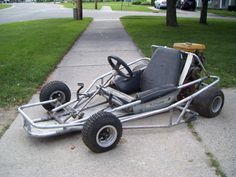 Homemade go-cart this is really cool
