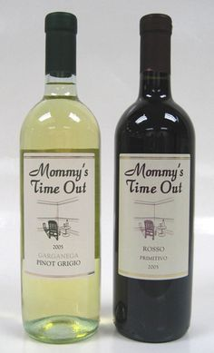 "Mommys Time Out- wine. I had the pinot grigio it's delicious, light with a hint of pear maybe. Very perfect for a summer ""time out"""