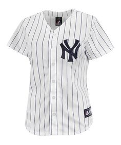 85481bb49 Love this New York Yankees Replica Home Jersey - Women  amp  Plus by  Profile Apparel