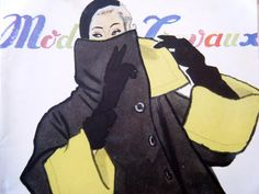 1940s Mode Travaux Paris French Womens Fashion and by Vintageworks, $20.00