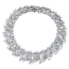 Harry Winston diamond necklace