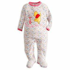 Disney Winnie the Pooh Stretchie for Baby | Disney StoreWinnie the Pooh Stretchie for Baby - In their dreams they'll love ''Dancin' the night away'' with Piglet and Pooh. The two friends kick up their feet on this Winnie the Pooh Stretchie featuring an all-over musical note print.