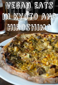 http://www.plantpowerednomad.com/?p=501 Going to Japan? Check out where you can get delicious vegan food in Kyoto and Hiroshima, featuring a ridiculous amount of vegan junk food and chocolate desserts. Being vegan in Japan is easier than you might think! So many awesome vegan restaurants.