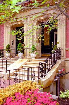 Lovely pink house