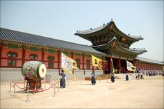 Gyeongbok Palace, Seoul, Korea.  Visited this palace during our visit to Korea.  Amazing!