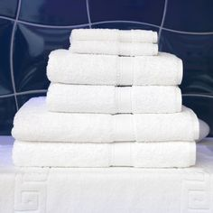 Luxury Hotel & Spa 7 Piece Towel Set