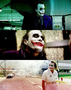 The Joker [Heath Ledger] The Dark Knight Heath Legder, Heath Ledger Joker, Joker Dark Knight, The Dark Knight Trilogy, Batman Joker Quotes, Batman Christian Bale, Der Joker, Best Villains, Best Superhero