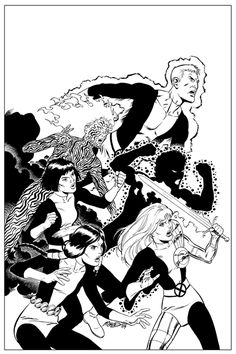 New Mutants by Bob McLeod
